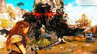 Horizon Zero Dawn Gameplay Walkthrough - NEW GAMEPLAY!! - Paris Games Week (2016 Release Date!!)