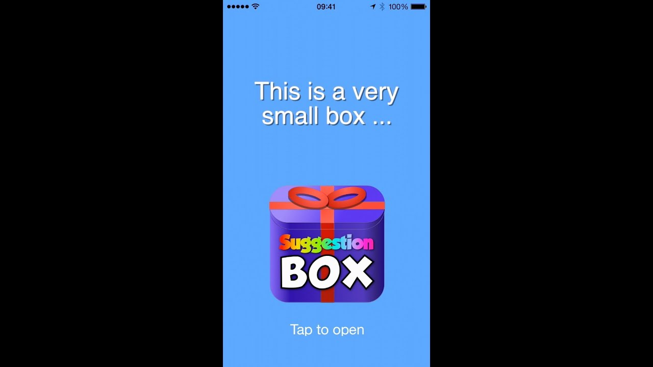 Suggestion Box App Store Preview