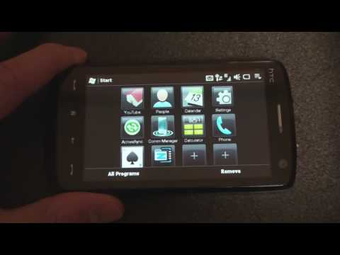 The New Start Menu of the HTC Touch Pro2