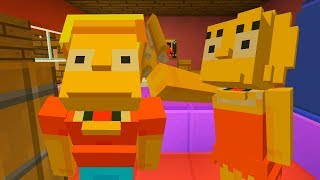 BART SIMPSON GOES BOLD | The Simpson | Minecraft Xbox
