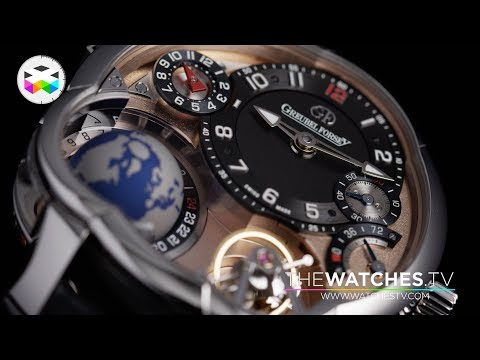 The 5 versions of the Greubel Forsey GMT