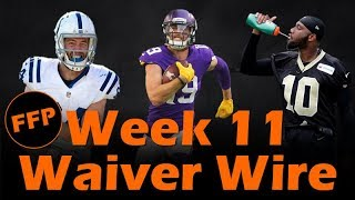 Fantasy Football 2018 Waiver Wire Week-11