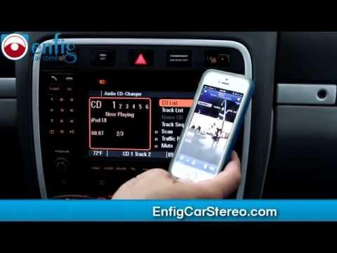 Porsche Cayenne Bluetooth AUX iPod USB adapter