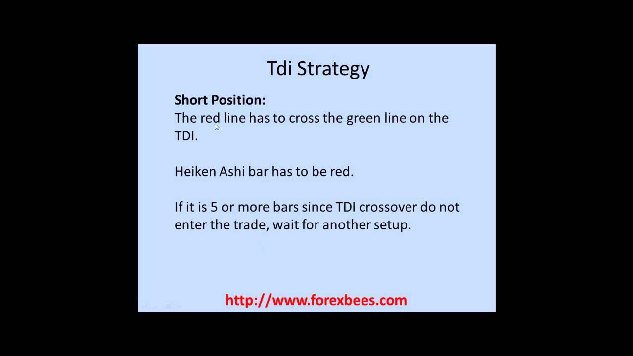 Forex tdi strategy