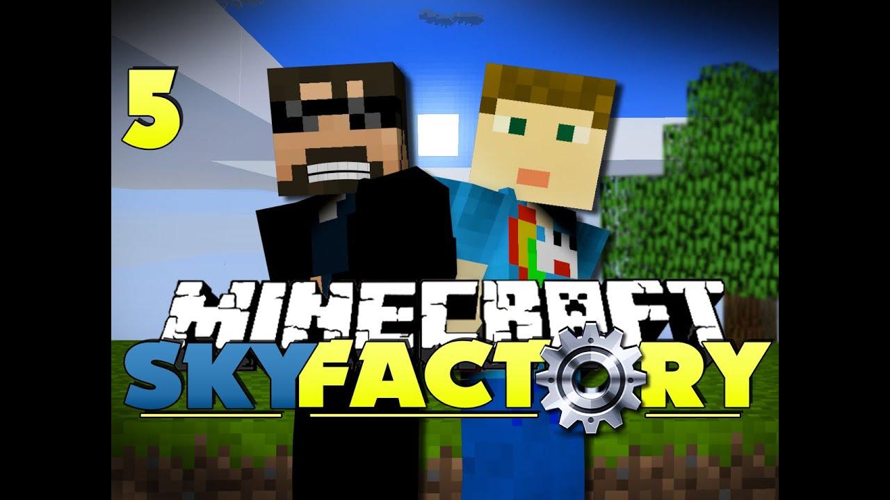 minecraft modded skyfactory 5 the golden egg youtube