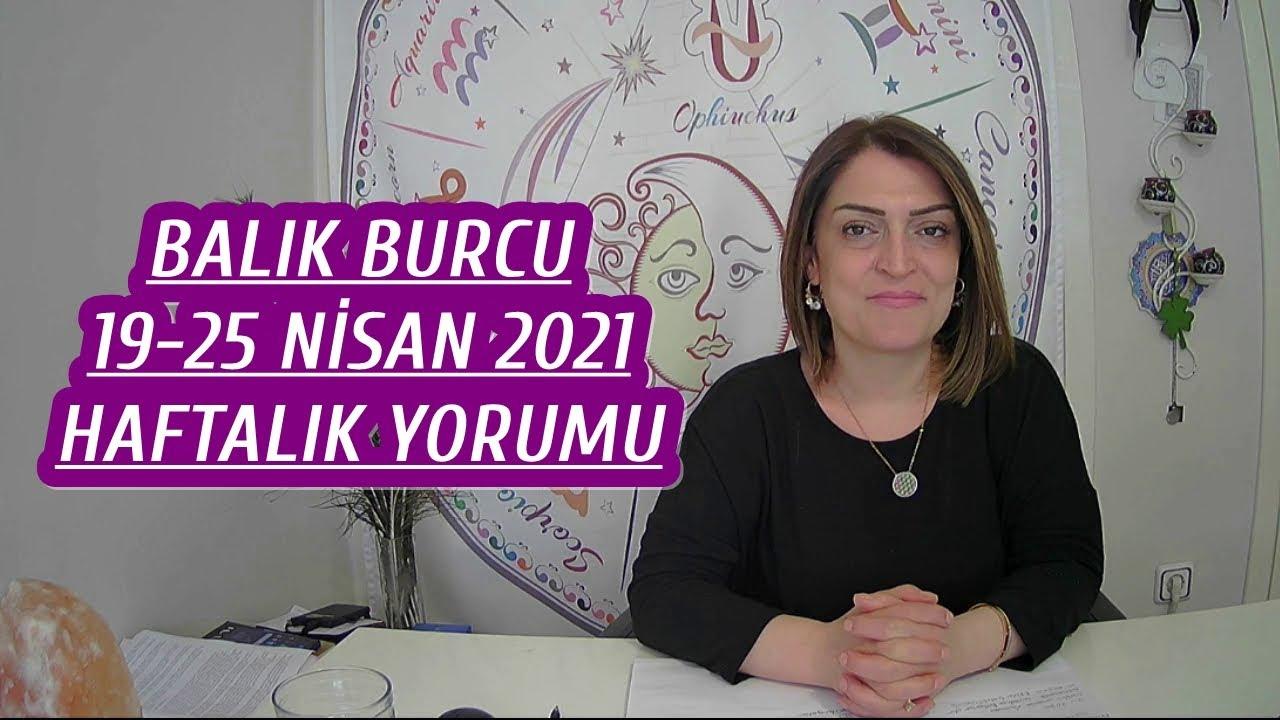 BALIK BURCU 19-25 NİSAN 2021 HAFTALIK YORUMU Astrolog Nuray Taşıyan yorumladı.