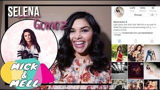 Reenacting selena gomez's instagram pictures/doppelganger??(vlog/challenge)