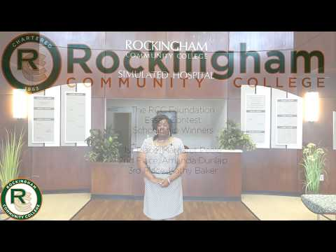 Rockingham Community College Foundation Scholarship Winners 2018