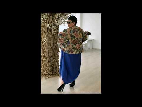 Полная мода - свободные платья больших размеров