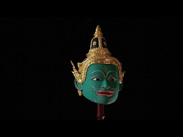 Khon, masked dance drama in Thailand