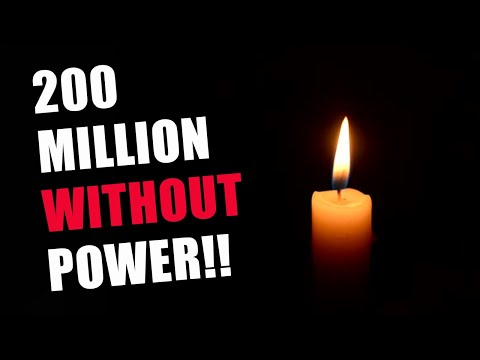 Largest Power Blackout in World History Happening RIGHT NOW!