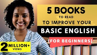 5 Books To Read Improve Basic English (For Beginners)