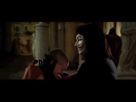 James McTeigue's V FOR VENDETTA (2005) - God Is In The Rain