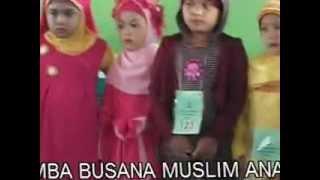 Lomba Busana Muslim Anak