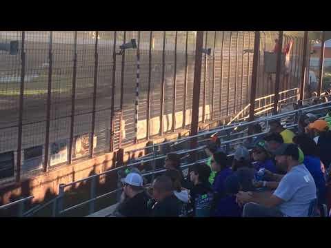 WISSOTA Super Stock Heat Race at Madison Speedway 7-6-2019