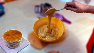 Медовик. Рецепт. Процесс приготовления /  Medovik. Recipe. The cooking process - Я - ТОРТодел!