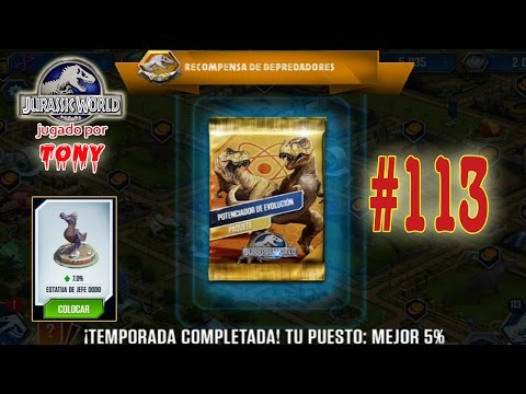 "Jurassic World ""Cap. 113 - Torneo del Gorgosaurus... y la Estatua de Jefe Dodo"" por Tony"