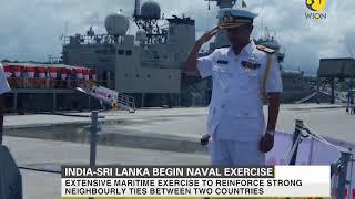 India and Sri Lanka start joint naval exercises in Visakhapatnam