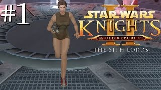 Star Wars Knights of the Old Republic II: The Sith Lords (KOTOR 2) Walkthrough - 01 (Introduction)
