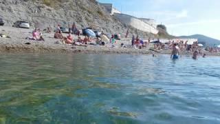 Архипо-Осиповка сентябрь 2016(Пляж рядом с посёлком., 2016-09-12T18:24:02.000Z)