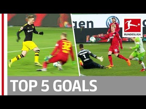 Reus, Tolisso, Brandt & More  - Top 5 Goals on Matchday 25