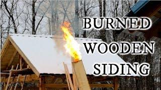Yakisugi ( 焼杉 )  Shou Sugi Ban ( 焼杉板 )   Yakiita ( 焼板 ) Burned wooden siding