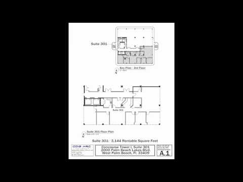 2000 Palm Beach Lakes Blvd Building Layout