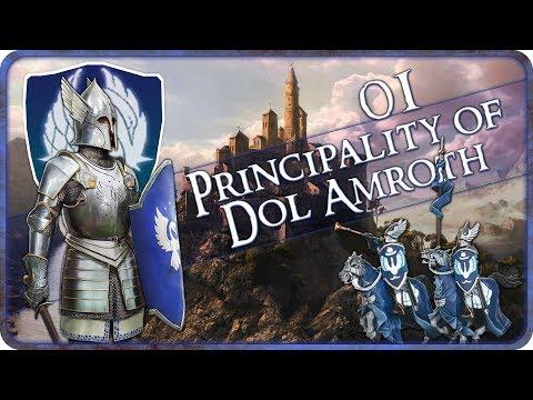 AMBUSHED - Principality of Dol Amroth - Third Age Total War: Divide and Conquer - Ep.01!