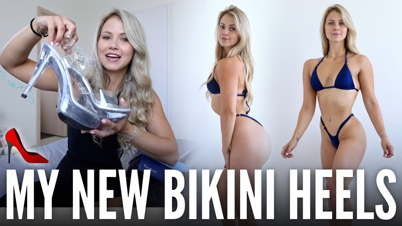 MY NEW BIKINI COMPETITION HEELS & SUIT | Things Have Changed...