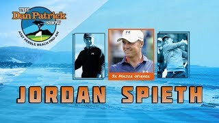 Jordan Spieth Talks Golf with Brady, Going Out in Disguise & More w/Dan Patrick | Full Interview