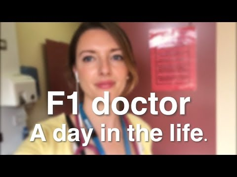 A Day In The Life Of An F1 DOCTOR On General Surgery | Dr Sarah Nicholls