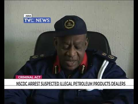 NSCDC arrest suspected illegal petroleum products dealers