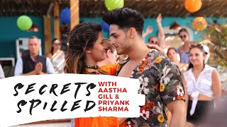 Priyank Sharma and Aastha Gill reveal secrets about each other | bandook Exclusive