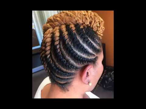 Natural Twist Hairstyles For Black Women 2018 Youtube