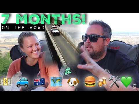 7 Months traveling Australia update! Q&A and costs so far