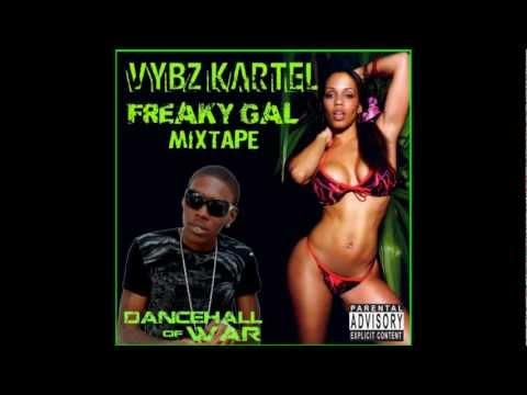 Vybz Kartel - Freaky Gal Mixtape