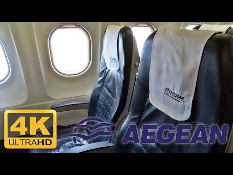 EUROPE'S BEST: AEGEAN AIRLINES | ZRH-ATH | ECONOMY CLASS | A321