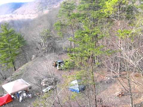 Camping Geen Ridge site 65 March 13   YouTube