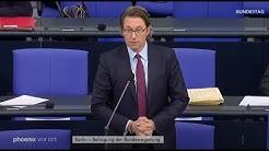 Spahn & Scheuer stellen sich Fragen der Abgeordneten
