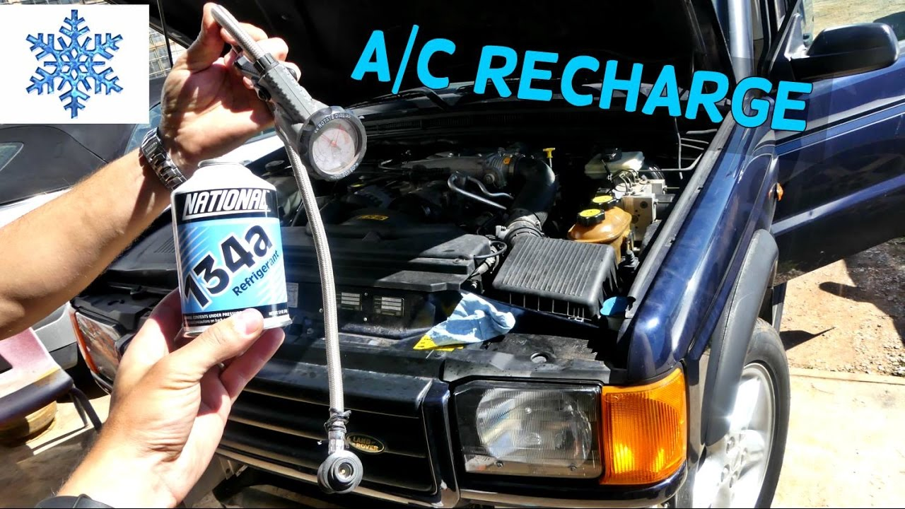 How To Refill Rechar A C Compressor On Land Rover