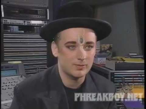 Boy George Crying Game ET Interview