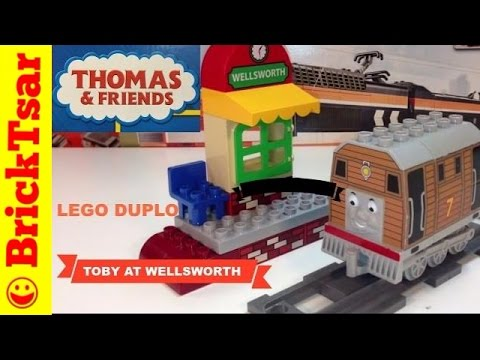 Thomas And Friends Lego Duplo Train 5555 Toby At Wellsworth