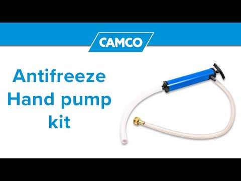 Antifreeze Hand Pump Kit Youtube