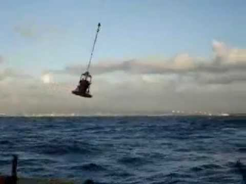 Operating a Offshore Crane - The Wrong Way