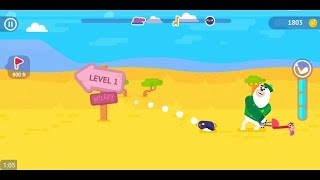 Golfmasters - Fun Golf Game (by Playgendary) - arcade game for android and iOS - gameplay.