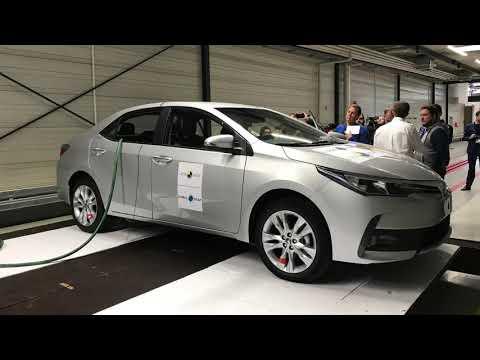 Latin NCAP y la prueba de choque lateral del Toyota Corolla.