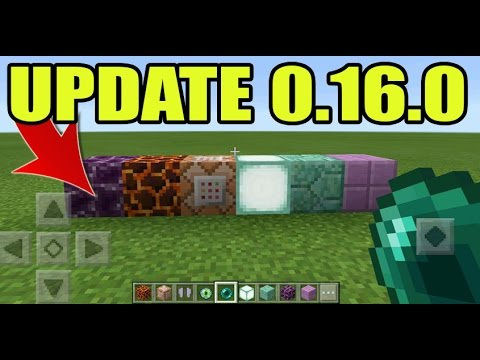 MCPE 0.16.0 UPDATE GAMEPLAY!! Minecraft PE (Pocket Edition) Fake 0.16.0 APK GAMEPLAY!