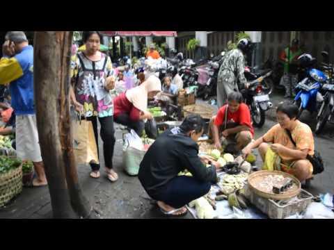 Traditional Market - Yogyakarta Indonesia