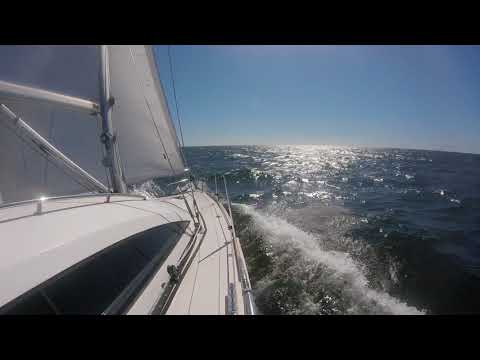 Sailing on the northern Baltic Sea.