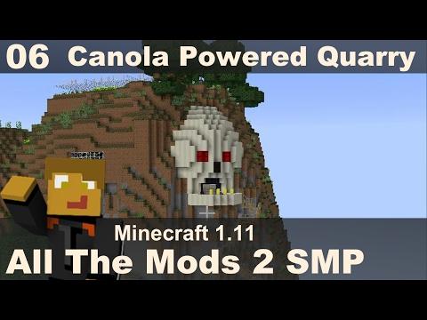 All The Mods 2 SMP - E06 - Canola Powered Quarry